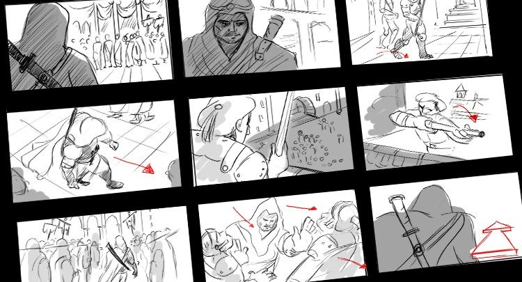 Learn to Storyboard for Film or Animation
