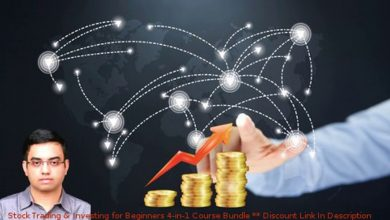 Stock Trading & Investing for Beginners 4-in-1 Course Bundle