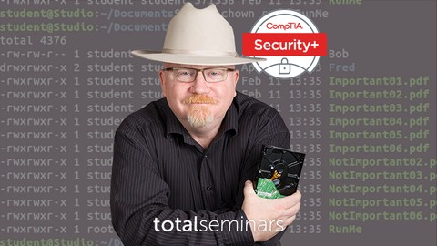TOTAL: CompTIA Security+ Certification (SY0-501).